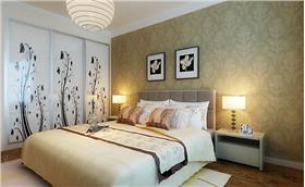 英玉人家4.6萬打造140平三居室簡約風格,鏤空隔斷裝飾電視墻,體現優雅品味