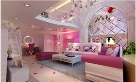當hello-ketty遇上歐式風,小戶型的酒店式設計,公主的小城堡!