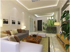 88㎡小戶型簡約舒適空間,家藏金嬌魅力無限