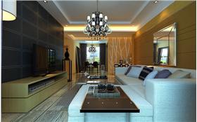 5.22萬打造88平米簡約風格純凈品質的空間