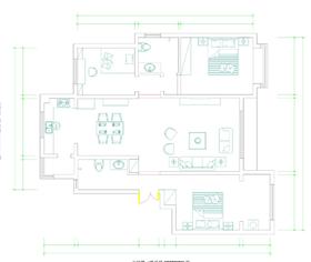 豫林嘉园135平三居室简约风格展示