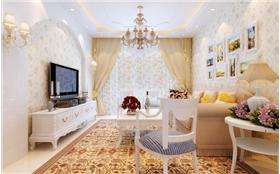 一房變兩房,客廳大變革,小果果4.7萬打造梅蘭居65㎡韓式田園小小家