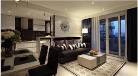 精致小戶型現代簡約風格 實用家居客餐廳共用一個空間