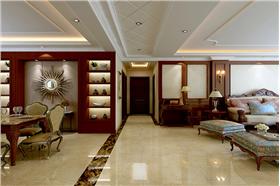 維多利亞二期180平米四居室歐式風格精致裝修,打造你的愛的居住空間吧!