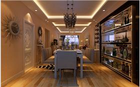 門廳餐廳超強收納,客廳陽臺改作小小書房,精裝現代風,幸福家生活