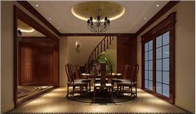 【旭輝御府】267㎡復式樓中式新古典之風攜手簡歐風打造古典之家