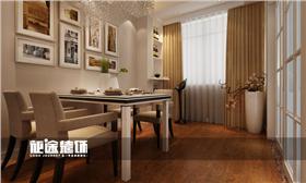 現代簡約風格四居室裝修4.5萬搞定,墻紙&軟包完美組合,各種柜體省出收納空間!