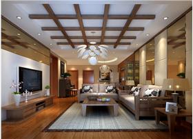 [府前官邸]126㎡三居室??给你一个新中式舒适的三口之家