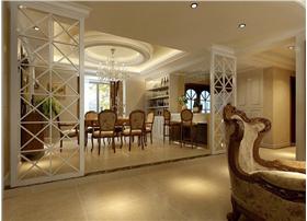 维多利橄榄城三居室欧式风格——大气低奢侈居住空间