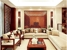 典雅中式风沿袭传统色彩,打造非凡家裝二居