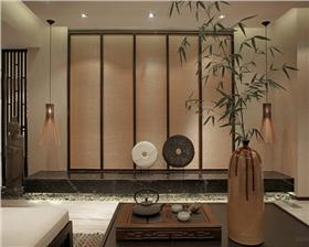 红星美凯城·85平米两居室新中式装修设计 呈现温润文雅居家环境