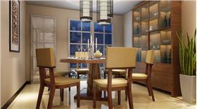 162平米4室2廳現代中式 简洁材料也能营造豪华感~
