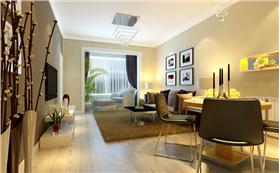 工薪階層的簡約二居室,4.6萬裝出黑白灰經典時尚之美