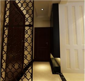 新中式風格温馨两居  给传统家居文化注入了新的气息。