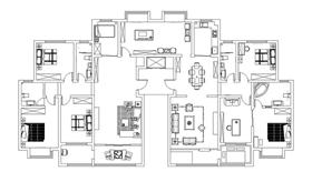 省人大宿舍  270平米  东南亚风格  休闲居家一体化