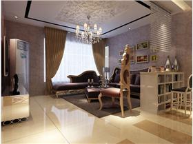 奢華貴氣盡顯!一室一廳小戶型也可以無限奢華!