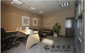 2014最干練酒店辦公室裝修,簡約會議室&文化氣息濃厚的辦公間