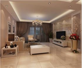 东盟森林135平米三室两厅两卫 打造一个质感有气质的家