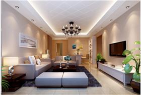 110㎡三居室低调奢华彰显大气,时尚又不失温馨。
