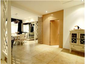 領東匯---118平米三居室混搭設計,亦田園亦鄉村亦簡歐