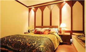 开阔不压抑 ???轻松打造浪漫70平米东南亚风情两室????