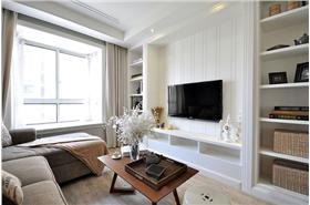 小戶型二居室·北歐風格打造簡單簡潔居室 完美利用空間