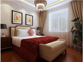 含蓄秀美的新中式風格温馨两居!材质的巧妙兼柔注入了新的气息。