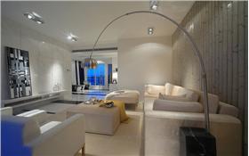 簡約時尚低調奢華 明凈華麗質感二居室