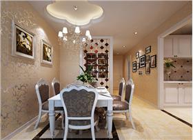 120平三居室,高端大氣有檔次,給你一個奢華的生活空間。
