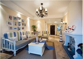 地中海时尚之家,打造别样浪漫空间。