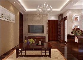 【增光路】80平米定制簡約中式風格,7万打造簡約中式二居室