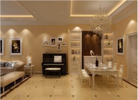 簡約歐式以色彩調和空間的生機,為你打造一個華麗不失內涵的家。