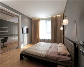 【山水悦庭】98平米两室简约风格效果图——小空间大装修。