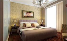 白金翰宫111平三居室,让富贵高雅也可以变得简单大气,平易近人