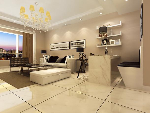 现代简约风格客厅吊顶装修效果图,现代简约沙发图片