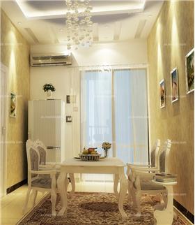 歐式田園魅力三居室:歐式家具打造的130㎡溫情空間