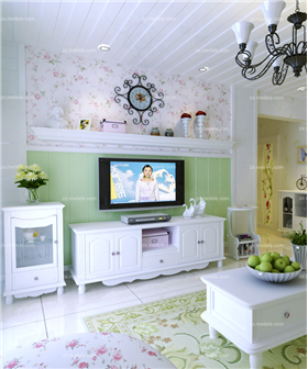 小家就要韓式風情,碎花大樹苗入戶,打造屬于你的浪漫滿屋~