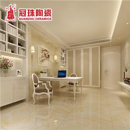 冠珠白玉全抛釉地砖800x800客厅简约欧式釉面瓷砖地板砖80503