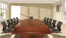 中式會議室設計效果圖片大全