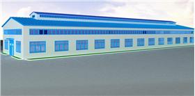 工業廠房3D效果圖