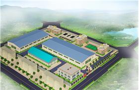 工業廠房模型設計效果圖