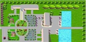 廠房綠化平面圖