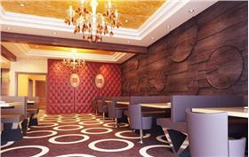 高檔酒店餐廳裝修效果圖