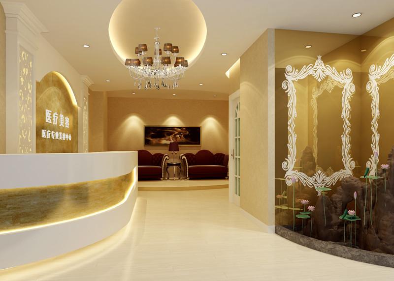 美容院房間設計裝修效果圖欣賞圖片