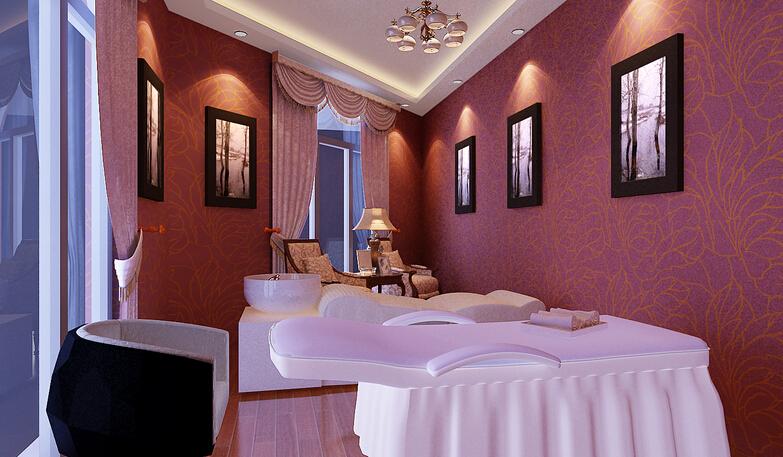 美容院室内浴室设计装饰效果图