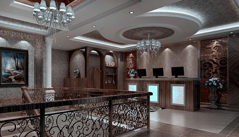 欧式豪华美容院设计室内图片