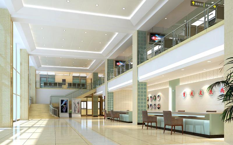 医院大厅装修效果图