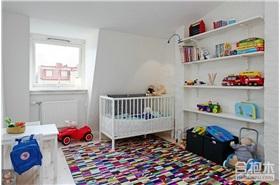 兒童房储物架设计