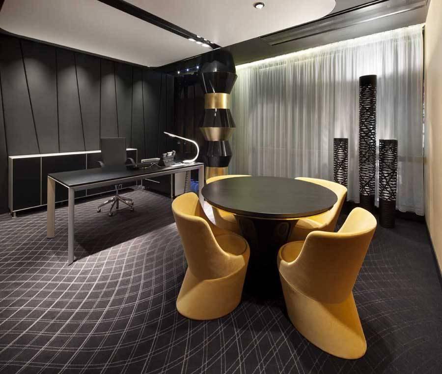 现代风格办公室休闲区吧台设计图片-现代风格吧台椅图片图片