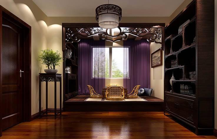 小型茶室正面效果图